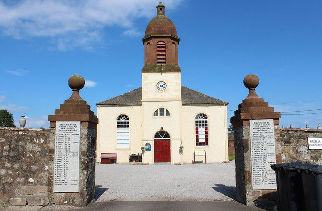 Former Kirkbean Parish Church