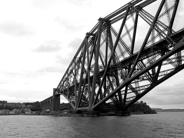 Beneath the Forth Bridge