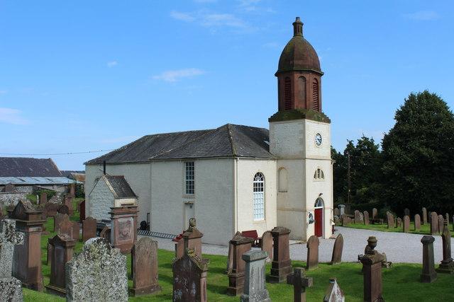 Former Kirkbean Parish Church and Graveyard