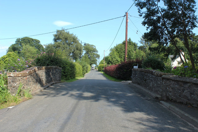 Road to Carsethorn at Kirkbean