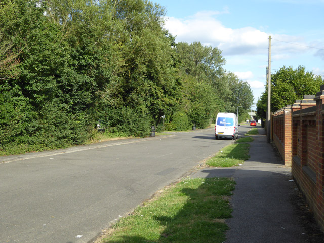 By-passed section of Wraysbury Road