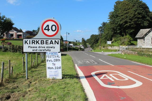Arriving at Kirkbean