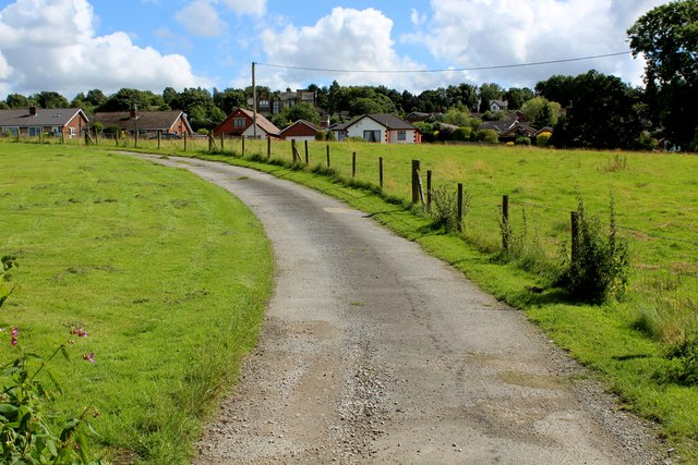 Access Lane from Tipping's Farm