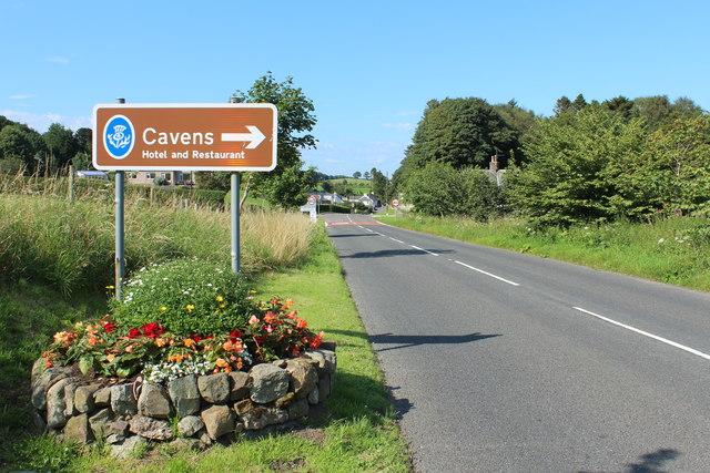 Approaching Kirkbean