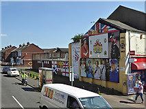 J3274 : Jubilee Memorial, West Belfast by David Dixon