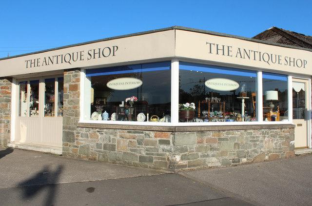 The Antique Shop, Kirkcudbright