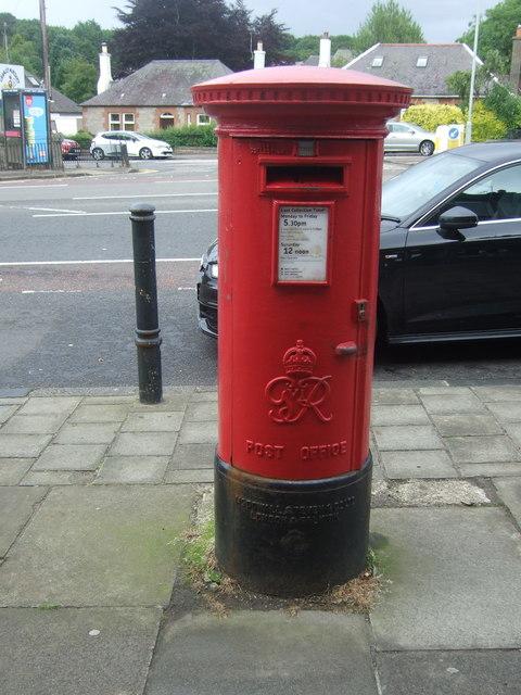 George VI postbox on Comiston Road, Edinburgh EH10