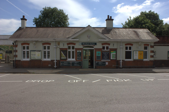 Merstham station building