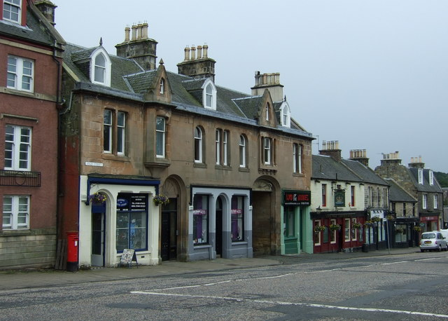 Shops on High Street, Penicuik