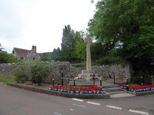 Backwell War Memorial: June 2017