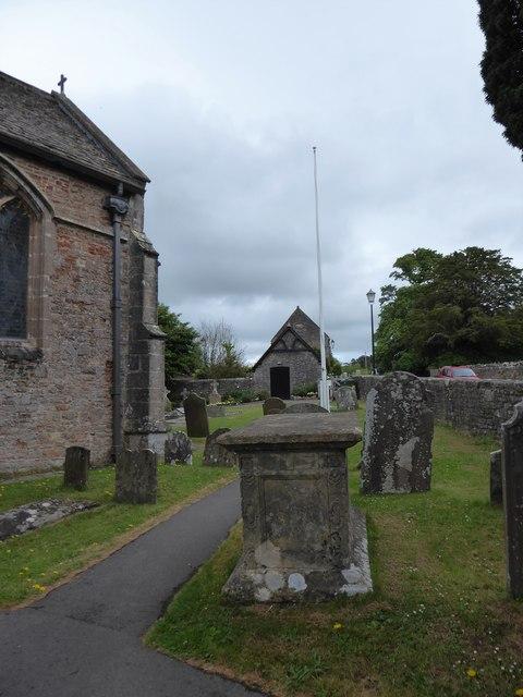 St Andrew, Backwell: churchyard (ii)