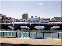 J3474 : Queen's Bridge, Belfast by David Dixon