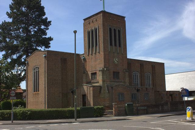 All Saints church, South Merstham