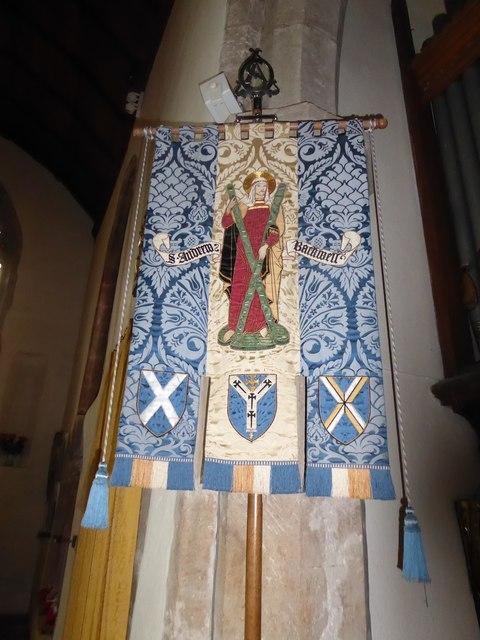 St Andrew, Backwell: banner
