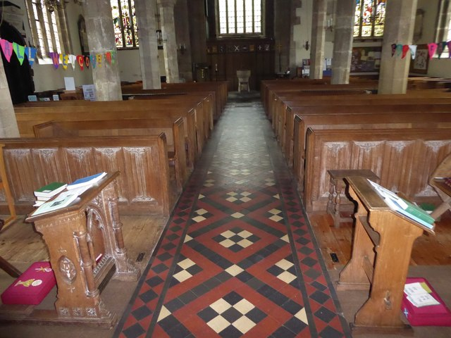 Inside St Andrew, Backwell (B)