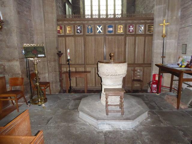 Inside St Andrew, Backwell (E)