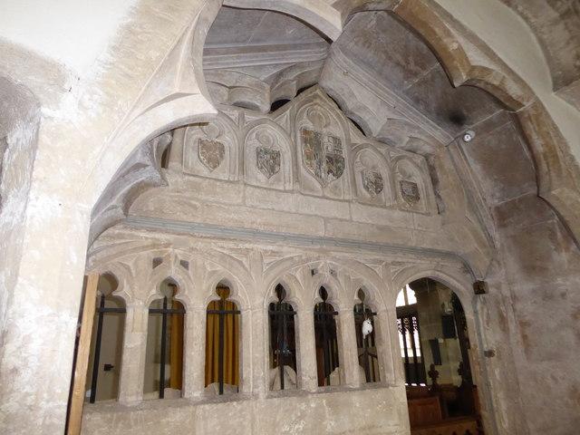 Inside St Andrew, Backwell (J)