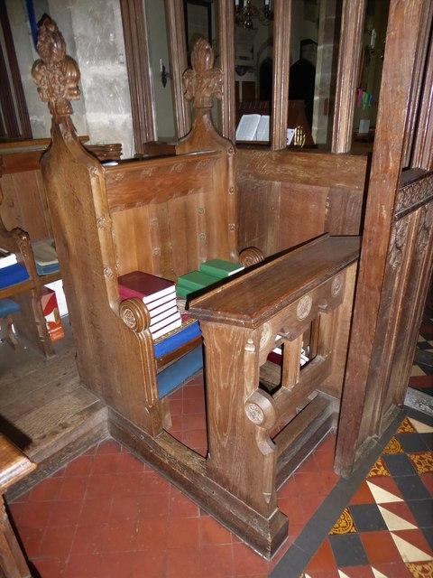 Inside St Andrew, Backwell (O)