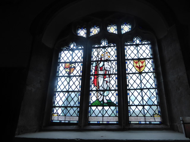 St Andrew, Backwell: stained glass window (II)