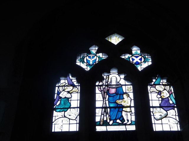 St Andrew, Backwell: stained glass window (III)