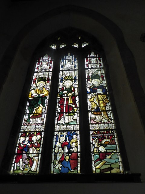 St Andrew, Backwell: stained glass window (VI)