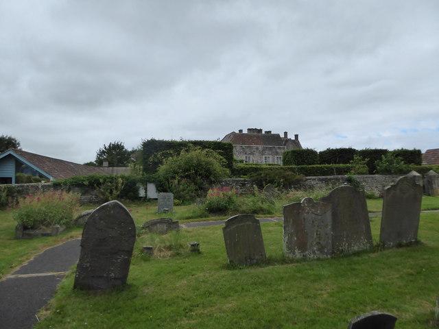 St Bridget, Chelvey: churchyard (d)
