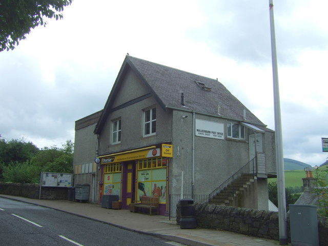 Walkerburn Post Office and stores