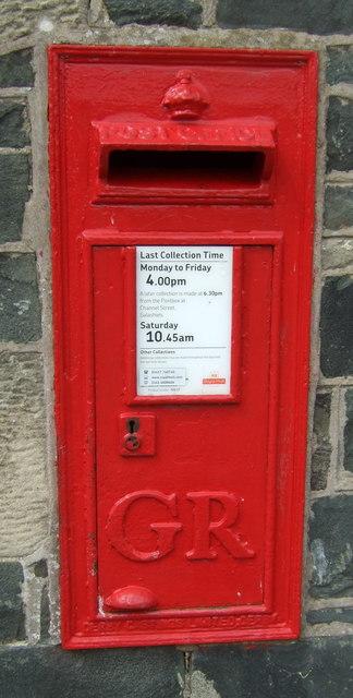 George V postbox, Clovenfords Village Store