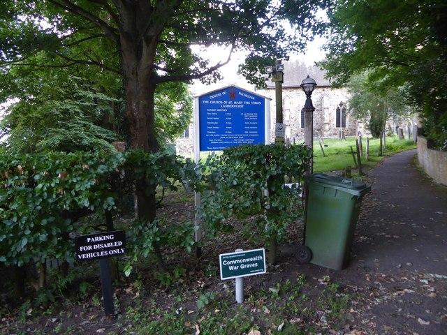 An evening visit to St Mary Lamberhurst (a)