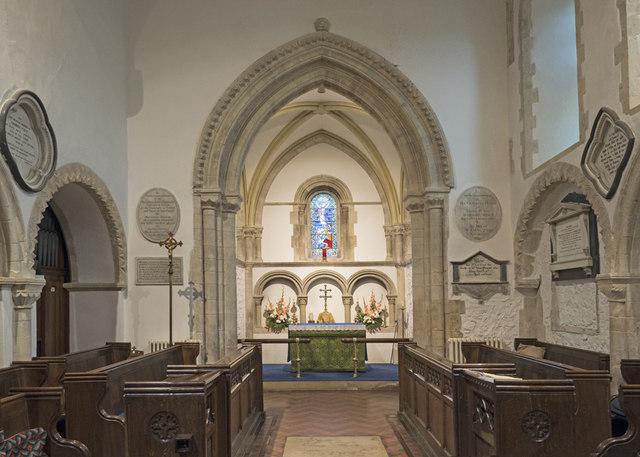 St Andrew, Bishopstone - East end