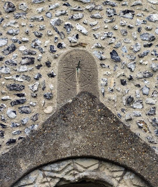 St Andrew, Bishopstone - Sundial