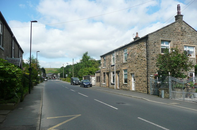Todmorden Road (A6033) Summit, Littleborough