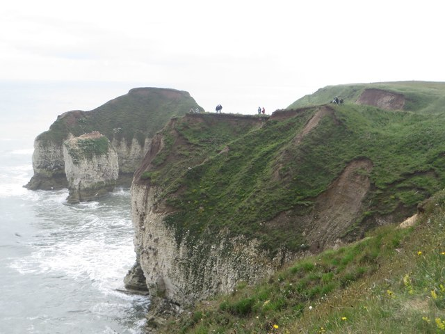 Looking towards High Stacks at Flamborough Head