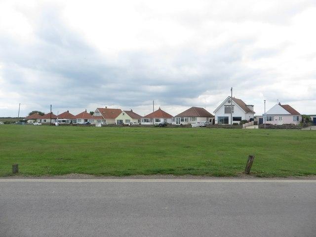 Houses at Flamborough Head