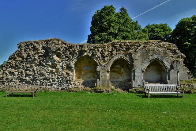 Hailes Abbey: North Cloister Wall