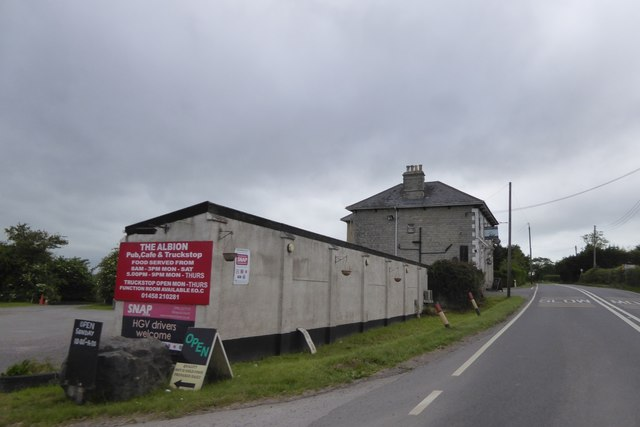 The Albion inn and truck stop