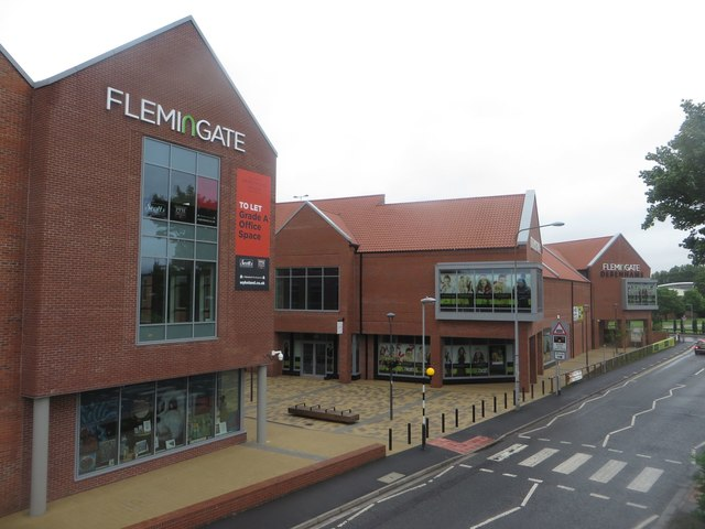 The Flemingate development, Beverley