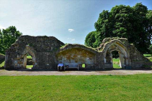 Hailes Abbey: Laver in the South Range
