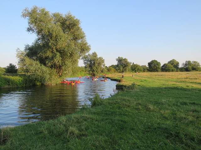 Canoes on the Cam
