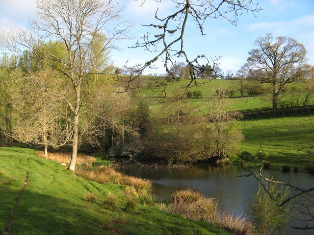 Lake near Cwm
