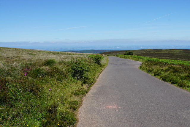 Road on Dunkery Hill