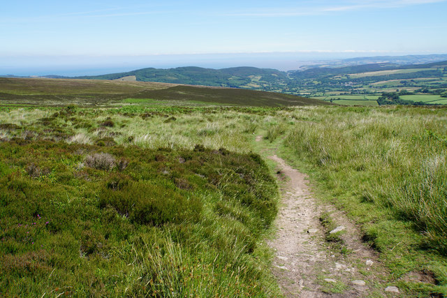 Bridleway off Dunkery Hill