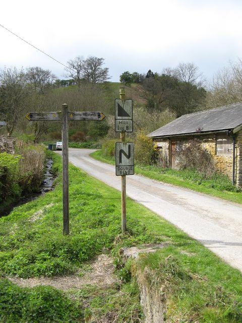 Path crossing, Churchtown
