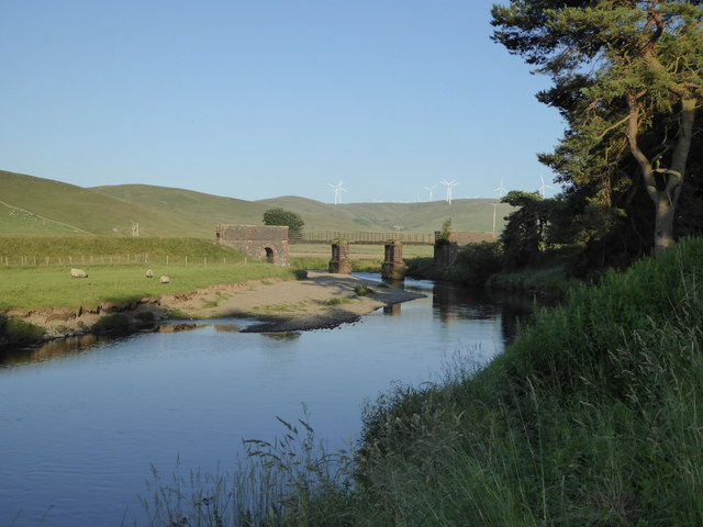 River Clyde at Crawford