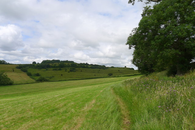 The Cotswold Way north of Dyrham
