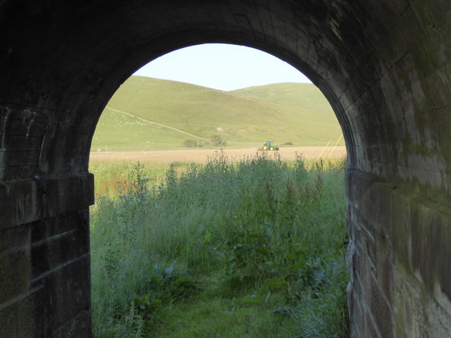 View through the arch, Crawford