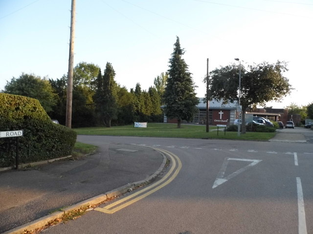 Partridge Road at the junction of High Oaks