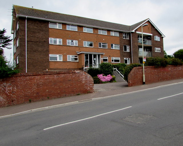 Three-storey flats, Maer Road, Exmouth