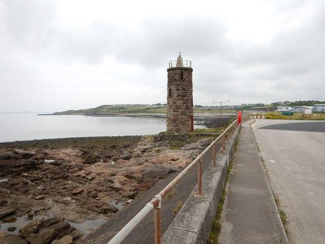 Heysham - Old Navigation Tower near Docks