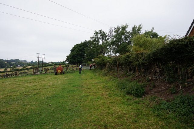 The Luddite Trail towards Clough Lane